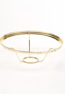 "Aladdin 10"" Brass Shade Ring #401RB"