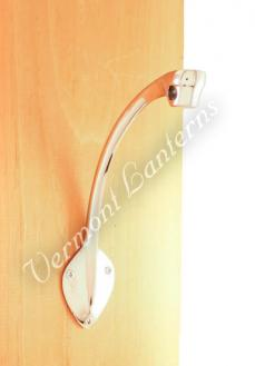 Chrome Bracket Wall Hanger - for Yacht Lamp
