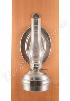 "Oil Lamps - Pewter ""Dorset"" Wall Lamp 10"""