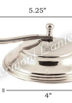 Wall Lantern Smoke Bell Nickel - 9891/9920