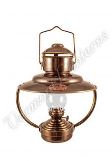 Nautical Lantern - Antique Trawler Cabin Lamp - 10""