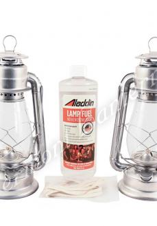 Galvanized Steel Hurricane Lantern Kit - 20