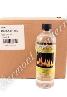 Pure Fire Bio Green Lamp Oil - 6 Case Box