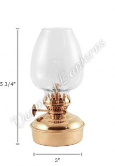 Oil Lanterns - Brass Mini - 5.75""