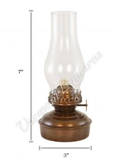 Oil Lanterns - Antique Brass Mini XL 7""