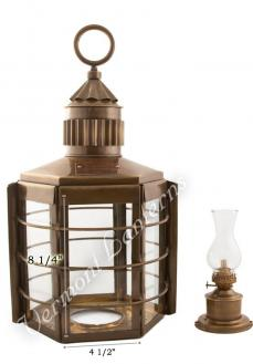 Clipper Ship Lamp Exterior Glass - 22""