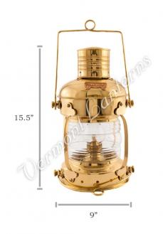 Anchor Lamp Brass - 15.5""