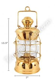 Nautical Lanterns Brass Nelson - 13.5""