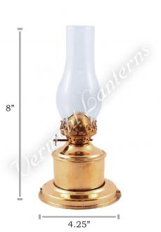 Oil Lamp Brass Tanks - 8""