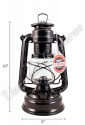 Feuerhand Hurricane Lantern German Made - Black