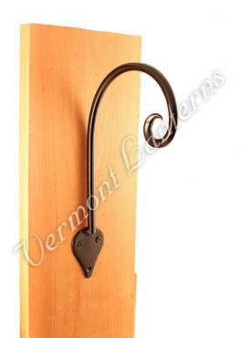 "Cast Iron Hook 10"" x 6"" Round"