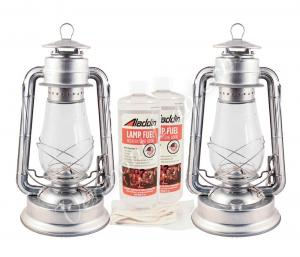 "15"" Galvanized Steel Hurricane Lantern Kit - 21"
