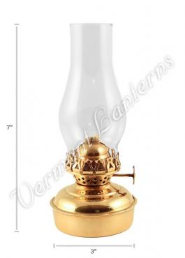Oil Lanterns - Brass Mini XL 7""