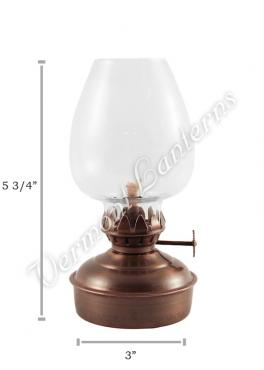 Oil Lanterns - Antique Brass Mini - 5.75""