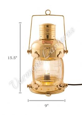 Electric Lanterns - Anchor Lamps - 15.5""