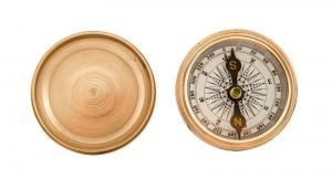 Nautical Gifts - Brass Pocket and Desk Compass - 2""