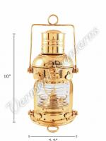 Ships Lanterns - Brass Anchor Lamp - 10""