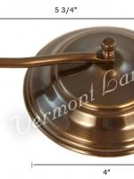 Wall Oil Lamp Smoke Bell - 584A