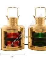 Electric Lanterns - Ships Lantern Port & Starboard - 12""