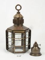 Clipper Ship Lamp Exterior Glass - 13""