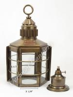Clipper Ship Lamp Exterior Glass - 16""